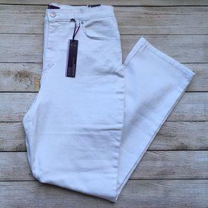 Gloria Vanderbilt White Slimming Amanda Jeans